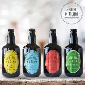 Degustazione birra Artigianale Angeloni - vendita su Marche in Tavola