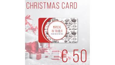Christmas Card - 50 Euro