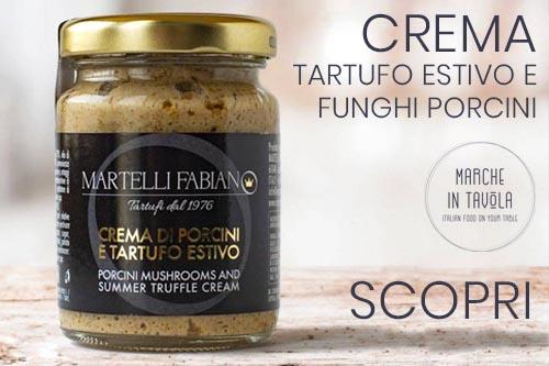 Crema Tartufo Estivo e Porcini | Banner vendita online