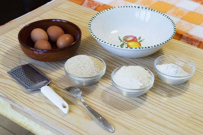 Ricetta passatelli | Gli ingredienti