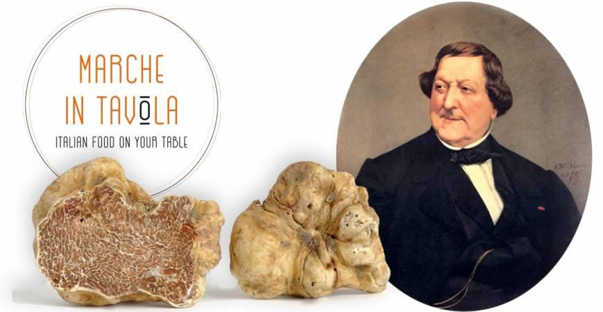 Gioacchino Rossini | Un Buongustaio Marchigiano