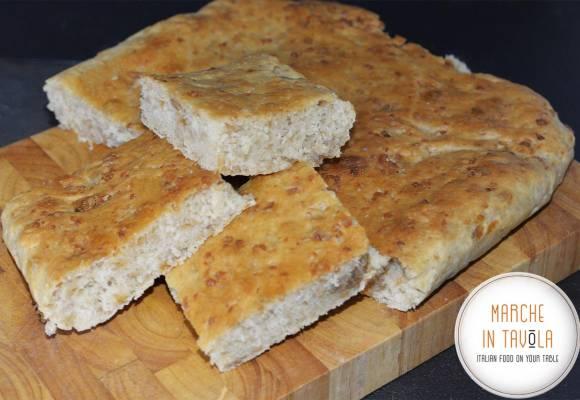 Crescia coi Grasselli - ricetta tradizionale Marchigiana